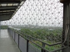 View from the Biosphere