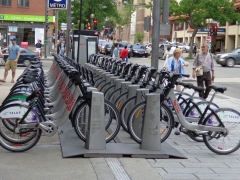 Bixi shared bike system